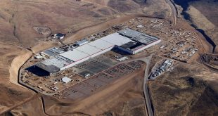 Battery Cell Production Begins at Tesla's Futuristic Gigafactory