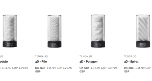Sex Toy 3D Printing Comes of Age with Tenga 3D… On Sale for Valentine's Day