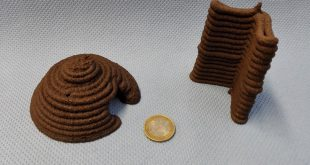 The ESA 3D Prints with Simulated Mars Regolith Too
