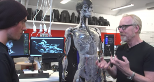 Take a Look at the Ridiculously Detailed 3D Printed Endoskeleton from Ghost in the Shell (Video)
