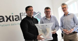 axial3D Secures £500k in Funding to Grow 3D Printed Anatomical Models Business