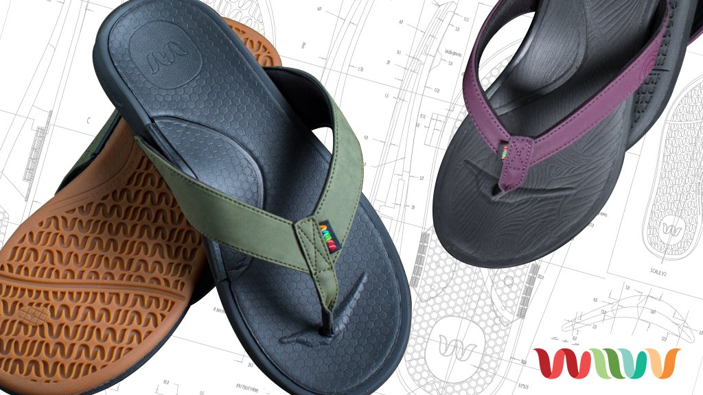 Wiivv Custom 3D Printed Sandal on Kickstarter