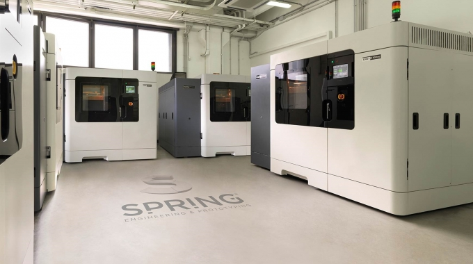 Spring adds fourth Fortus 900MC