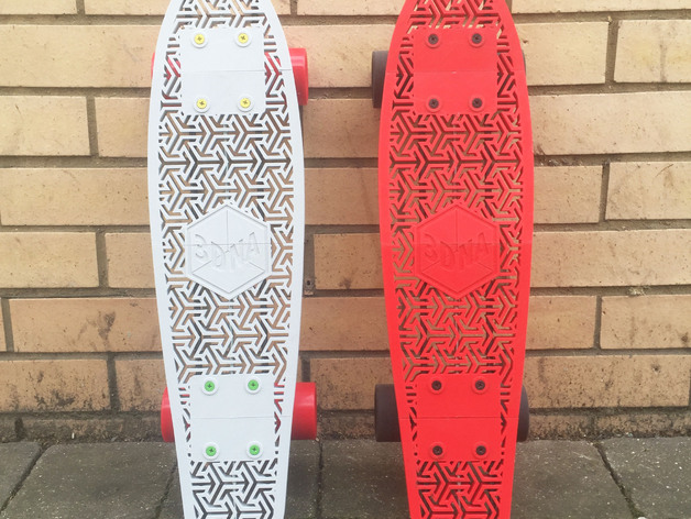 3D Printed Penny Board