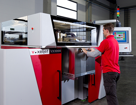 Platinum 3D also offer voxeljet binder jetting technologies as well as powder bed fusion metal 3D printing services