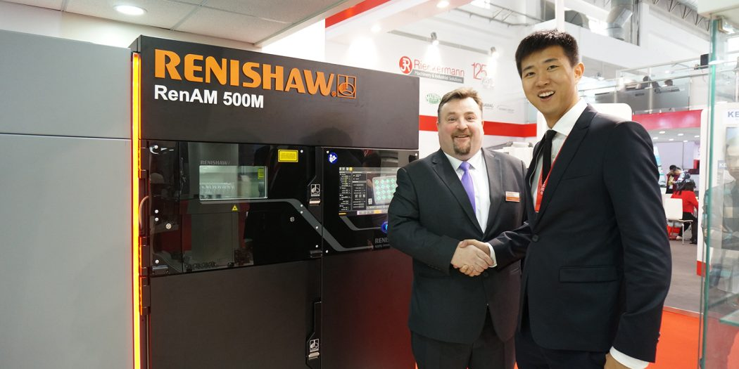 Renishaw FalconTech Co Partnership