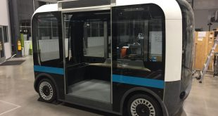 Local Motors Prepares for Serial Production of Its OLLI 3D Printed Smart Vehicles