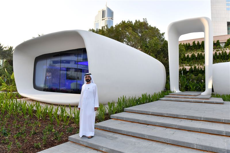 dubai first 3D printed office05