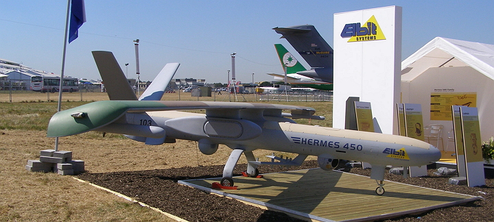 Elbit-Systems-Hermes450_Farnborough