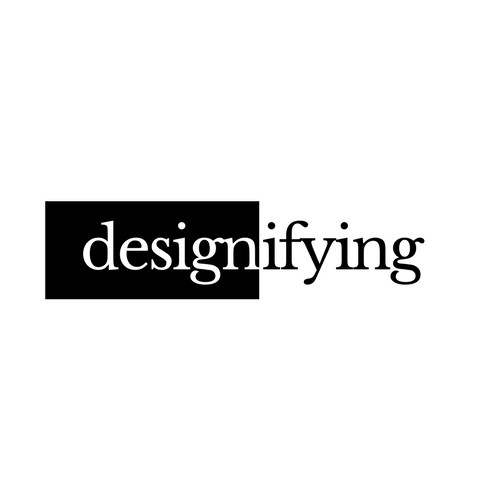 Designifying 3d printing services logo