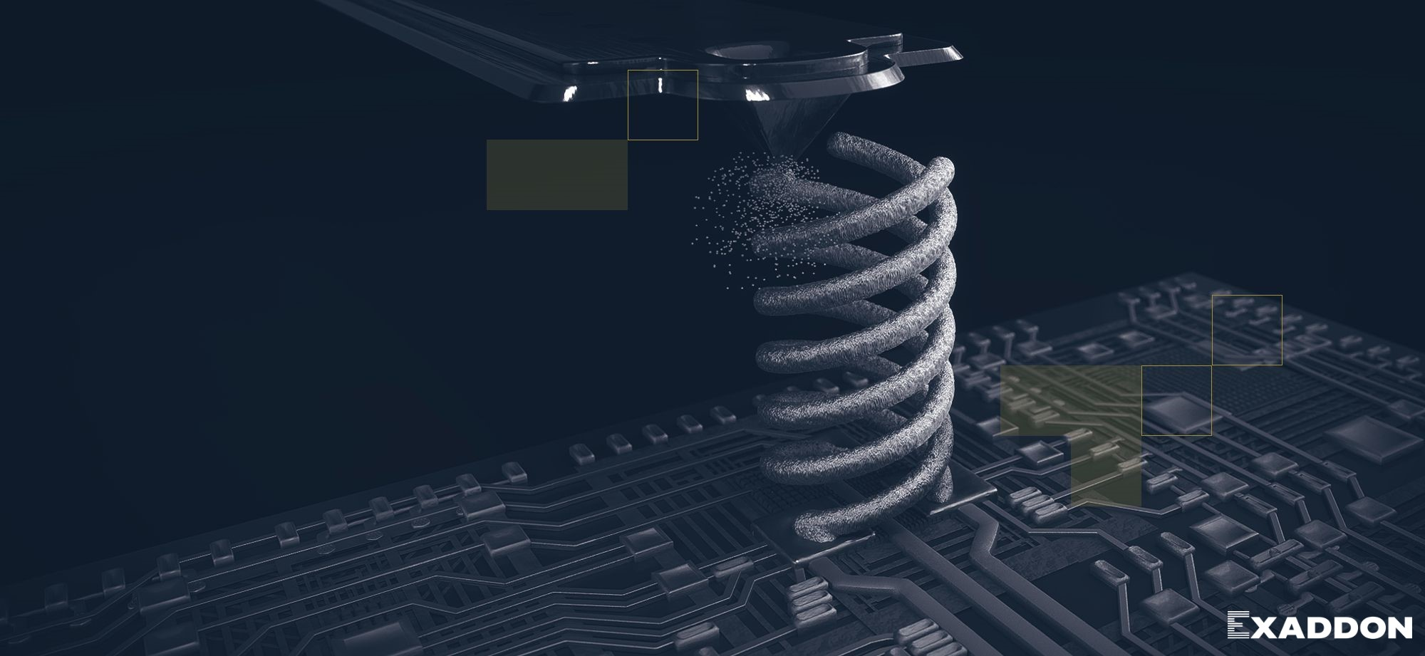 Exaddon additive micromanufacturing banner image
