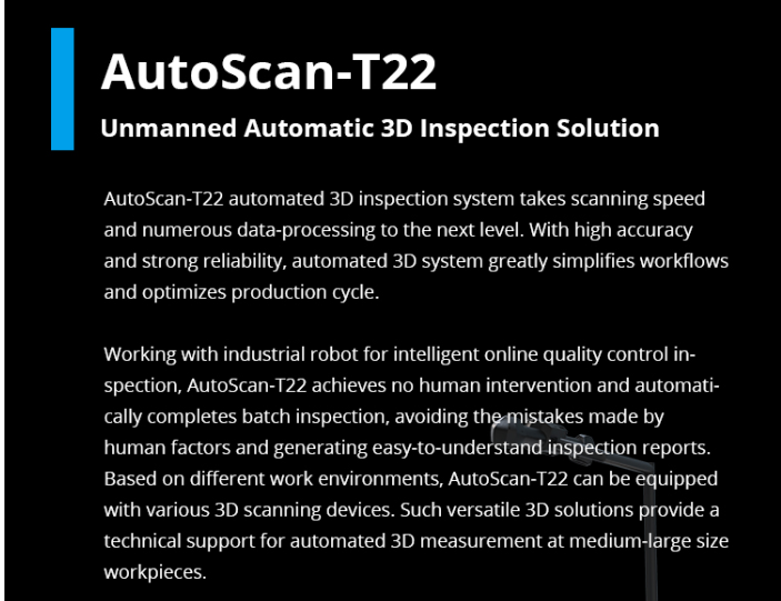 automated 3d inspection solution