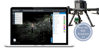 Online LiDAR & Laser Scan Data Processor for DJI Zenmuse L1